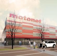 Motolataus-pisteet sähköautoille Motonetien yhteyteen