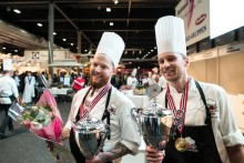Tore Carlsson Sægrov fra Quality Hotel Leangkollen kåret til Årets grønne kokk