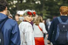 Interflora och festivalbesökarna hyllade artisterna under Way Out West med över 2000 blomsterkransar