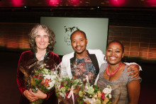 Starka känslor när PRAESA mottog Litteraturpriset till Astrid Lindgrens minne 2015