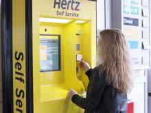 Hertz nya självservicekiosk ska revolutionera hyrbilsbranschen