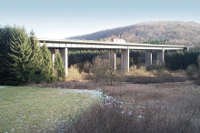 Starting shot for renewal of the Grumbach Bridge along A6 motorway
