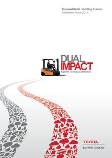 Toyota först med hållbarhetsrapport inom europeiska materialhanteringsbranschen