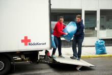 Röda Korset utvidgar miljömedveten klädåtervinning