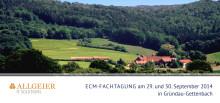 ECM Fachtagung Programm