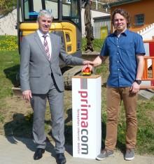 primacom bringt schnelles Internet nach Reichenbach