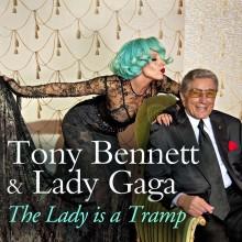 """Tony Bennett och Lady Gaga i videon """"The Lady Is A Tramp"""""""