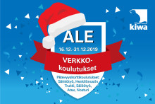 Joulutarjous   Suosituimmat Koulutusmaailman pätevyyskortti-verkkokoulutukset jouluhinnoin