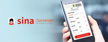 "​Innovative Sparplattform: Santander startet Web-App ""sina"""