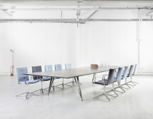 Lammhults bordssserie Attach pristagare i Design S