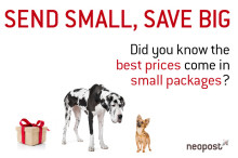 Send small parcels with the Royal Mail and save big