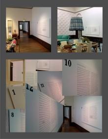 Liljevalchs nya utställning Home Sweet Home med informationstavlor från Clarex