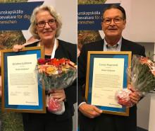 Akademiskt jubileum ramade in installationen av Apotekarsocietetens nya hedersledamöter
