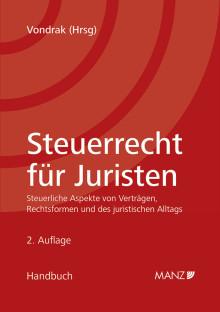 Neu bei MANZ: Steuerrecht für Juristen in 2. Auflage