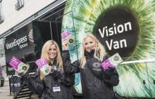 Eye health in focus as Vision Express Vision Van hits Birmingham