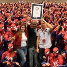 Se filmen: Största samlingen människor klädda som Spider-Man