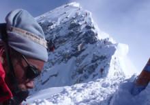 Glaciärerna på Mount Everest smälter!