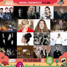Äntligen presenteras artisterna till gratisfestivalen Putte i Parken