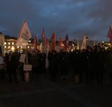 Hyresgästföreningen fortsätter demonstrera mot ombildningar