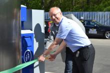 Statoil inviger ny fordonsgasanläggning i Bromma