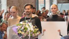 Boråsstudent trea i modetävling