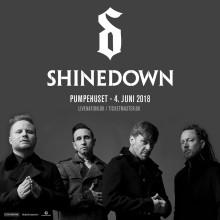 Shinedown vender tilbage til Danmark /4. juni i Pumpehuset