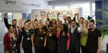 Local college visits ID Medical for massage marathon to support Mental Health Awareness Week