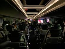 En bussig filmkväll för sjuka barn