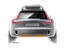 Volvo Concept XC Coupé - nästa kapitel i Volvos moderna formgivningshistoria