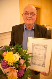 Lennart Kedvall är 2014 års vinnare av Birgittapriset