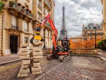 Franske gravemaskinførere elsker tiltrotatorer, noe som gir rekordsalg for Engcon i Frankrike