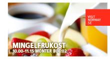 Inbjudan till frukostmingel i Norges monter på TUR-mässan