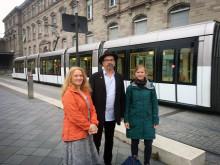 Inspiration från Europa till spårvägsprojektet i Skåne