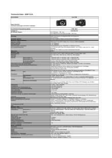 Technische Daten Alpha 77 II von Sony