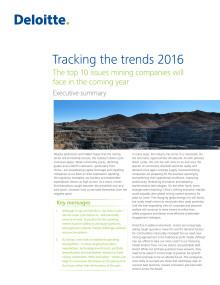Tracking the trends 2016 – Sammanfattning