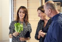 H.K.H. Prinsesse Marie besøger  med FødevareBanken en morgenmadscafé for børn