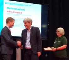 Liberförfattaren Hans Persson får Lärkanpriset 2014