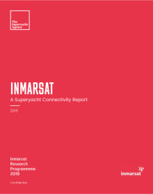 Inmarsat's 2019 Superyacht Connectivity Report Forecasts Surge in VSAT Usage
