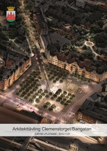 Juryns utlåtande. Arkitekttävling Clemenstorget och Bangatan