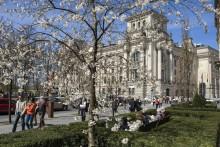Start våren i Berlin