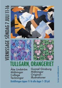 Konstutställning Gunnel Ginsburg & Åke Lindström på Tullgarn