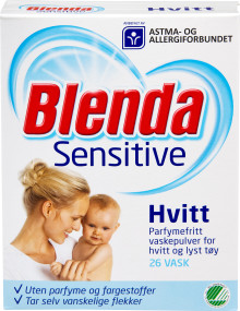 Blenda Sensitiv Hvitt