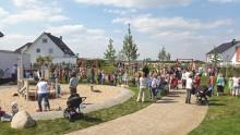 Spielplatzeröffnung in Delhoven