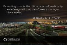 Ledarskapsboosten:  Förtroende - din organisations viktigaste kompetens