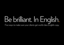 Open Agency White Paper: Be brilliant. In English. May 2012