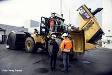 Eksplosions-sikret Cat 972M gummihjulslæsser