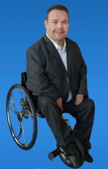 Flerfaldig Paralympier till Umeå