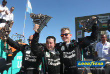 De Rooy-lastebilteamet vinner Dakar 2016 på Goodyear-dekk