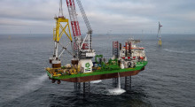 20 Suction bucket jackets successfully installed at Borkum Riffgrund 2