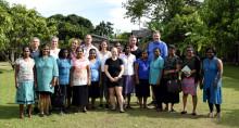 Tekompaniet stöttar utsatta kvinnor i Moratuwa
